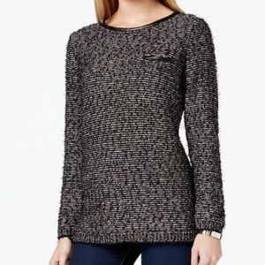 Calvin Klein | Eyelash Oversized Sweater LARGE